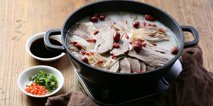 Soup from Tian La Green Fashion Restaurant (Jin Hongqiao) located in Changning, Shanghai