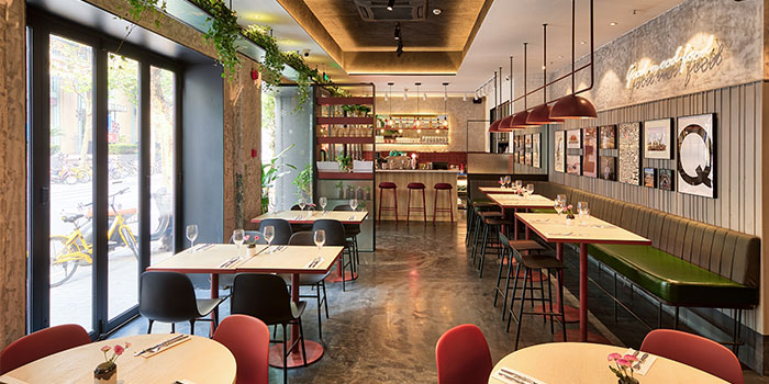 Indoors of EQ Nordic Eatery (Yanping Lu) located in Jing