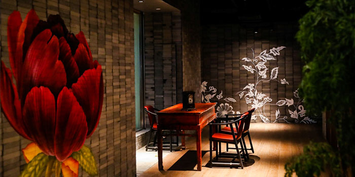 Indoors of Canton Table located in Huangpu, Shanghai
