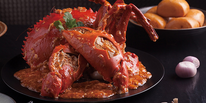 Chilli Crab from Jumbo Seafood (IAPM) located in Xuhui, Shanghai