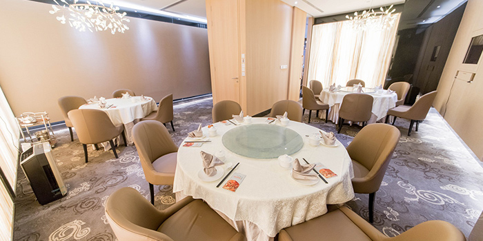 Private Room of Jumbo Seafood (Raffles City) located in Huangpu, Shanghai