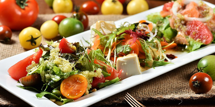 Salad from Green & Safe (Dongping Lu) located in Xuhui, Shanghai