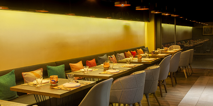 Seating Area of Bombay Bistro located in Huangpu, Shanghai