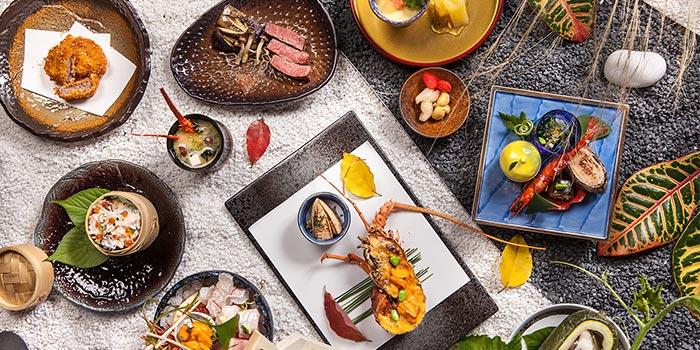 Food Selection of Seki-Tei (St.Regis Jing