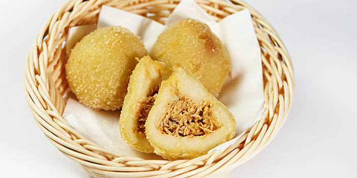 Chicken Croquette from Boteco Brazilian Bar and Food located on Julu Lu, Jing