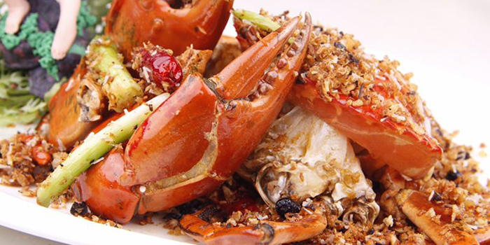 Crab from Starz Kitchen (Shanghai Centre) located in Jing