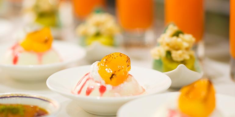 Dessert of California Cafe (Regal International East Asia Hotel) located in Xuhui, Shanghai