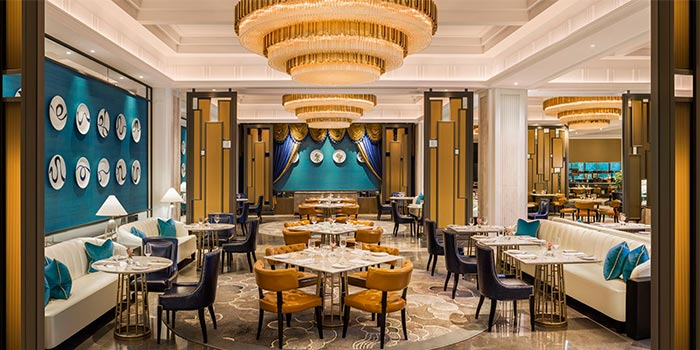 Dining Area of Social (St.Regis Jing