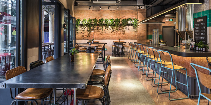 Dining Area of Little Creatures located in Huangpu, Shanghai
