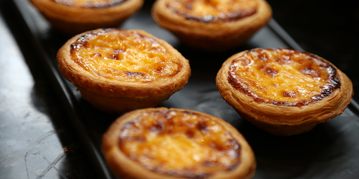 Egg-tart of California Cafe (Regal International East Asia Hotel) located in Xuhui, Shanghai