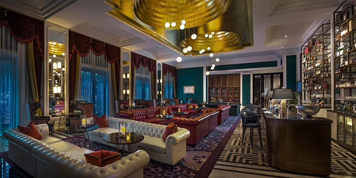 "Indoor of St.Regis Bar (St.Regis Jing""An) located in Jing""An, Shanghai"