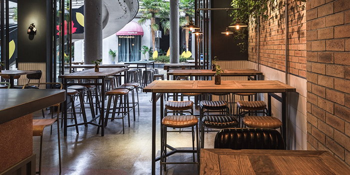 Interior of Little Creatures located in Huangpu, Shanghai