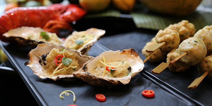 Oyster of California Cafe (Regal International East Asia Hotel) located in Xuhui, Shanghai