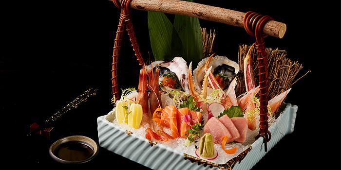 Sashimi of Ninth Generation Crab