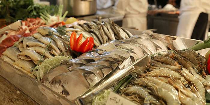 Seafood from VIE All-Day Dining (Sofitel Sheshan) located in Songjiang, Shanghai