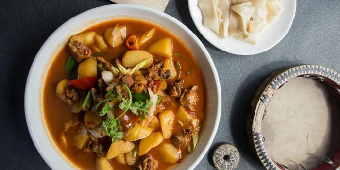 Food of Xibo located on Changshu Lu, Jing