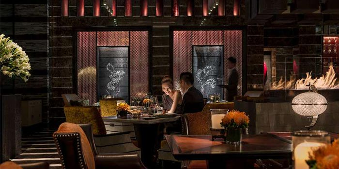 Indoors of camelia (Four Seasons Pudong) located in Pudong, Shanghai
