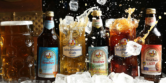 Beer of Himmelbush located in Minhang district, Shanghai