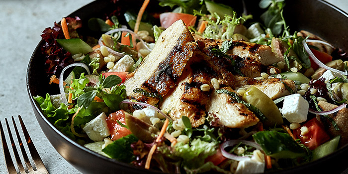 Chicken Bulgar Wheat Salad from Element Fresh (Silver Court) located in Huangpu, Shanghai