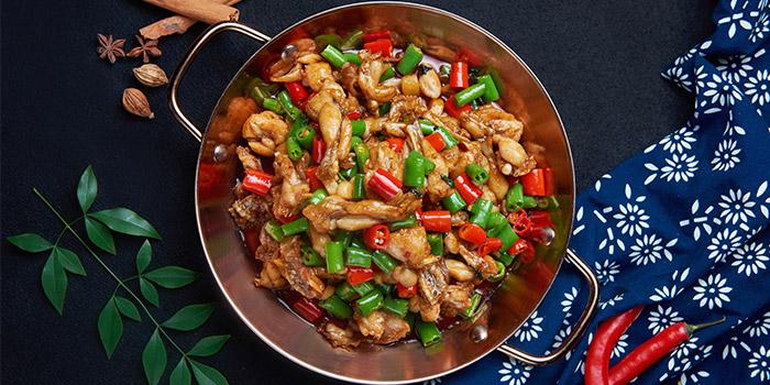 Crab of Guyi Hunan Restaurant (IFC) located in Pudong, Shanghai