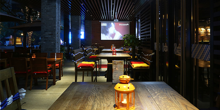 Dining-Area of Himmelbush located in Minhang district, Shanghai