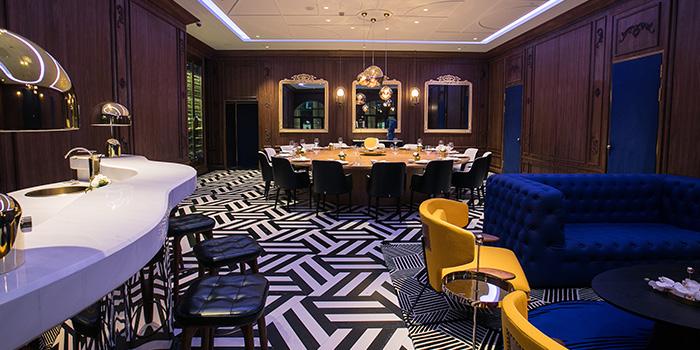 Dining-Area. of Lady Bund located in Huangpu, Shanghai