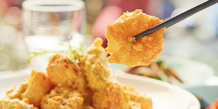 Egg-Shrimps of Guyi Hunan Restaurant (IFC) located in Pudong, Shanghai