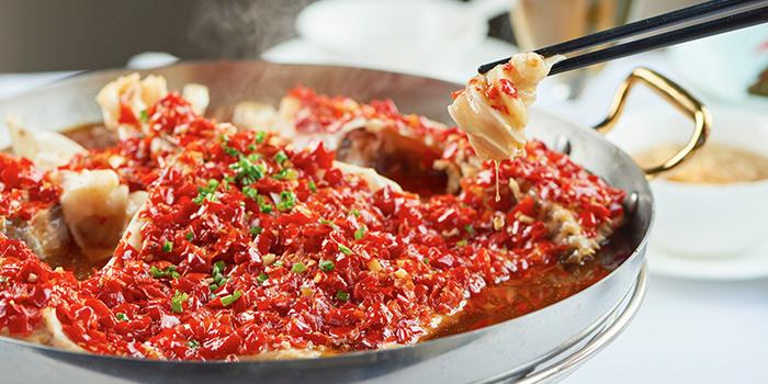 Fish of Guyi Hunan Restaurant (IFC) located in Pudong, Shanghai