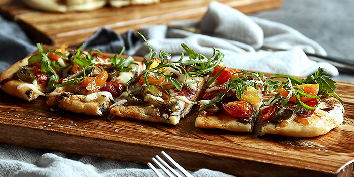 Flatbread of Element Fresh (Shanghai World Financial Center) located in Pudong, Shanghai