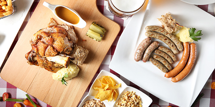 Food of Himmelbush located in Minhang district, Shanghai