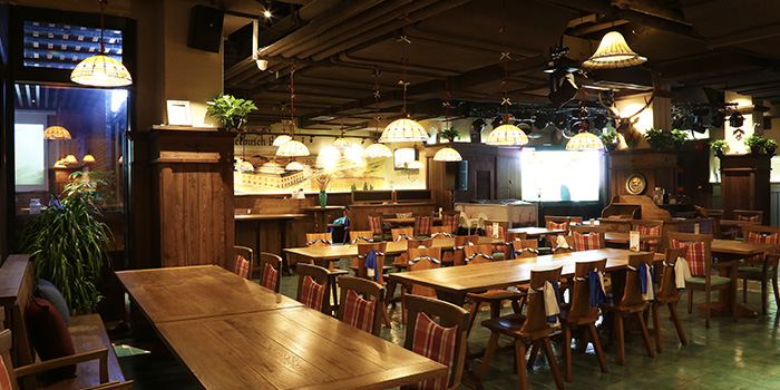 Interior of Himmelbush located in Minhang district, Shanghai