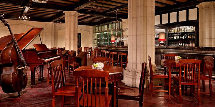 Interior of The Jazz Bar (Fairmont Peace Hotel) located in Huangpu, Shanghai