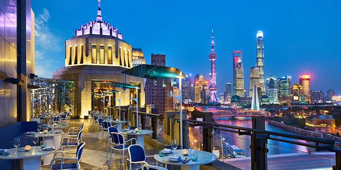 Patio of LAGO by Julian Serrano located in Hongkou, Shanghai