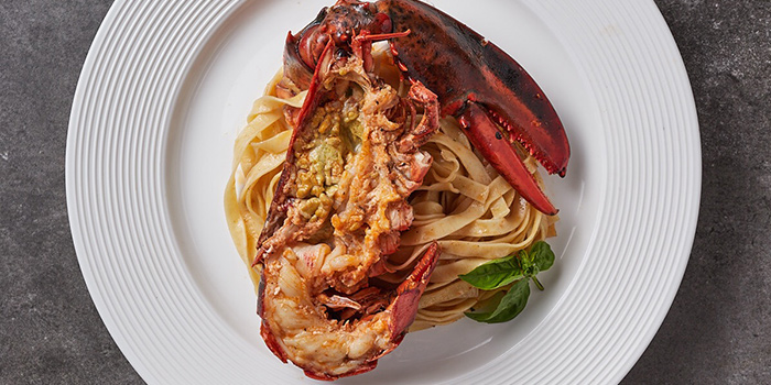 Lobster Pasta from Bianchi located on Huamu Lu, Pudong, Shanghai