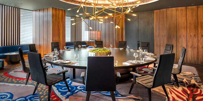 Private Dining Room of YEN (W Shanghai - The Bund) located in Hongkou, Shanghai