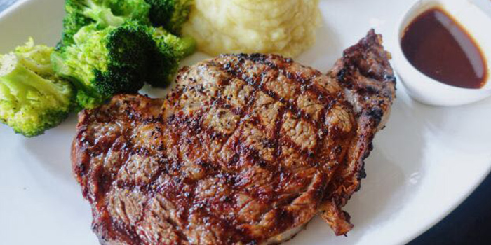 Steak from Shanghai Slim