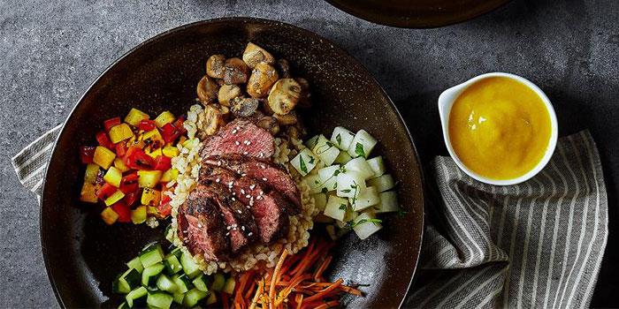 Steak from Element Fresh (Silver Court) located in Huangpu, Shanghai