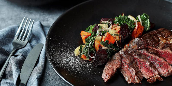 Steak of Element Fresh (Shanghai World Financial Center) located in Pudong, Shanghai