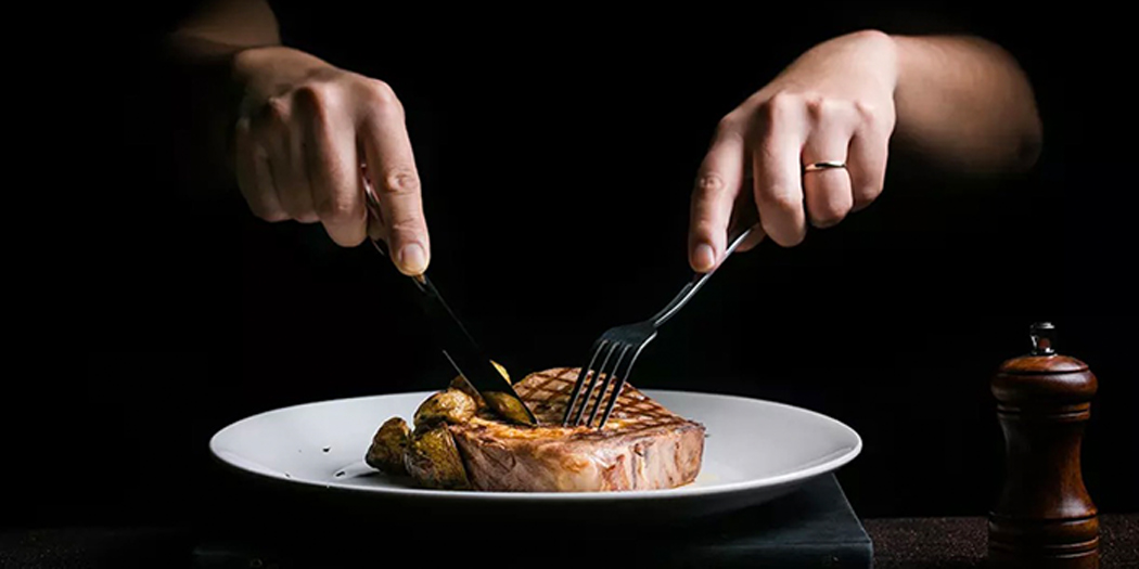 Steak of La Vite (JIanguo Xi Lu) locate in Xuhui, Shanghai