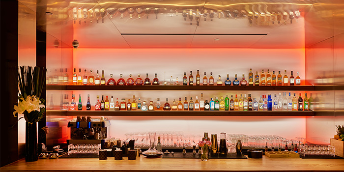 Bar of Family Li Imperial Cuisine located in Huangpu, Shanghai