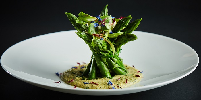 Bouquet of Green Asparagus of Café Gray Deluxe located in Jinf