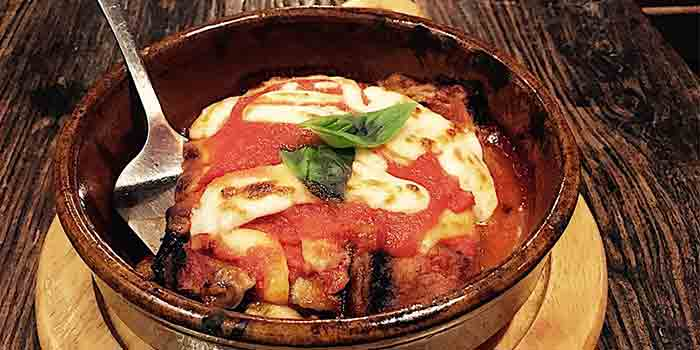 Eggplant-Parmigiana of Salute located in Xuhui District, Shanghai