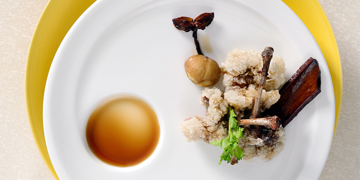Food of Family Li Imperial Cuisine located in Huangpu, Shanghai