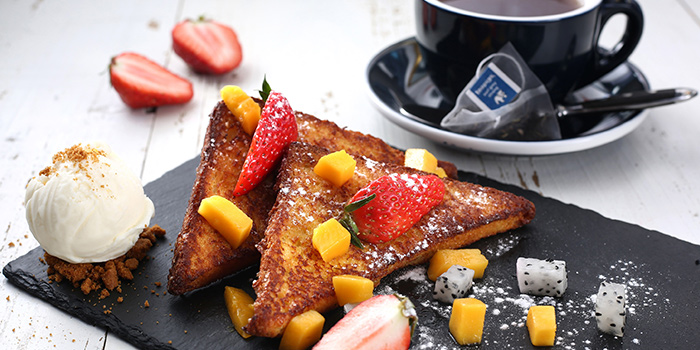 French Toast from Odelice! located on Tianyaoqiao Lu, Xuhui, Shanghai