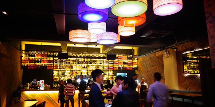 Indoor of FUNKA del Sur located in Jing