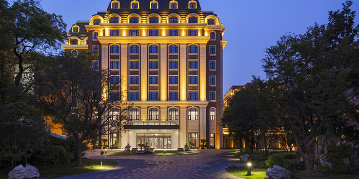 Outdoor of Roosevelt Prime Steakhouse (Ruijin Intercontinental Hotel) located in Huangpu District, Shanghai