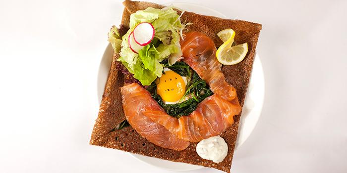 Salmon Crepe from Odelice! located on Tianyaoqiao Lu, Xuhui, Shanghai