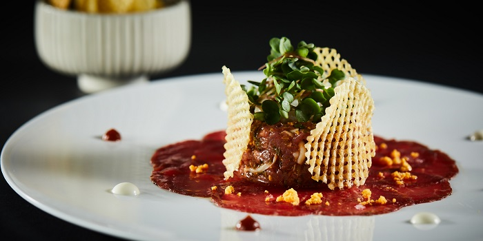 Steak Tartare of Café Gray Deluxe located in Jinf