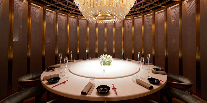 VIP Room of The Peacock Room located in Jing