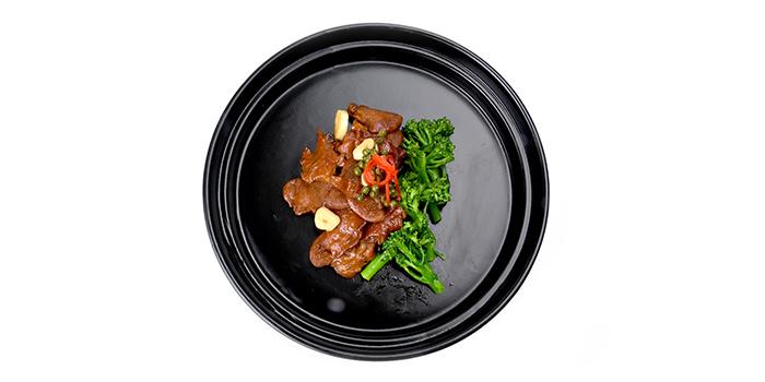 Food of WUJIE Xujiahui Park located in Xuhui District, Shanghai